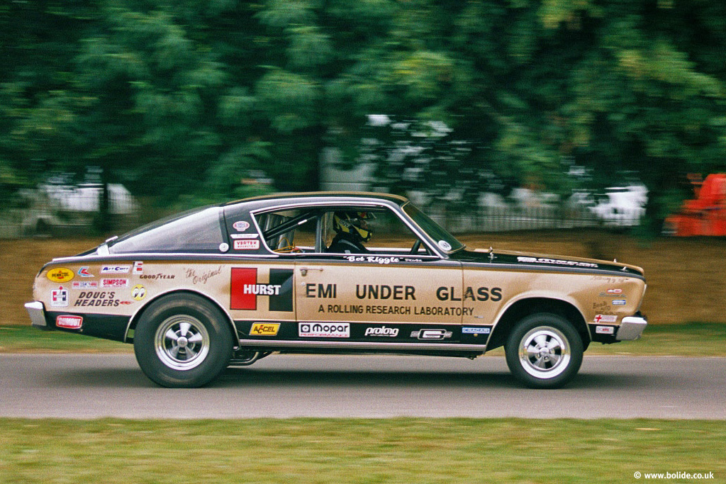 Hemi under Glass on the hill at Goodwood