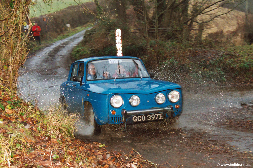 Rare Renault 8S on the 2002 Exeter Trial
