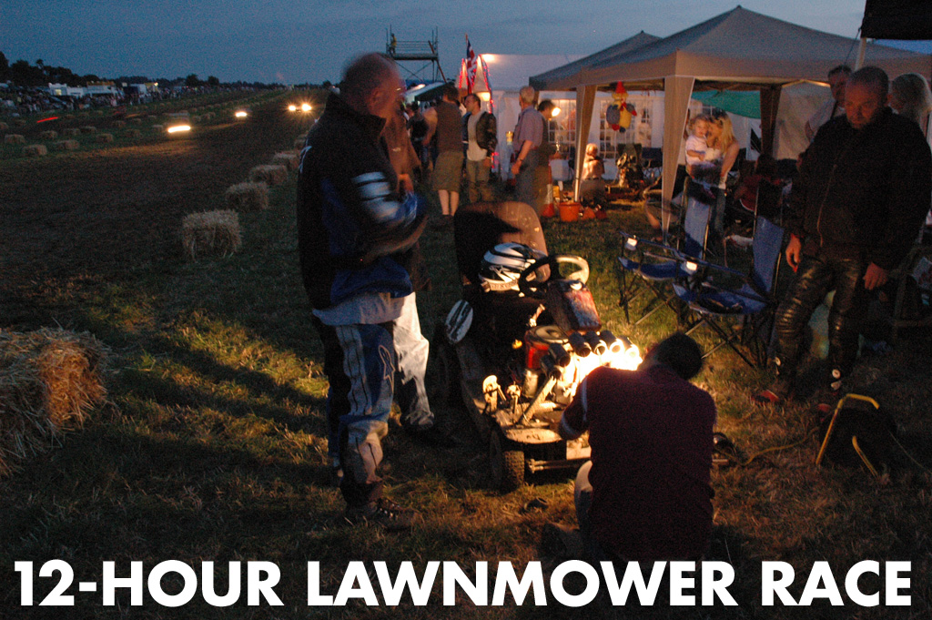 12-Hour Lawnmower Race