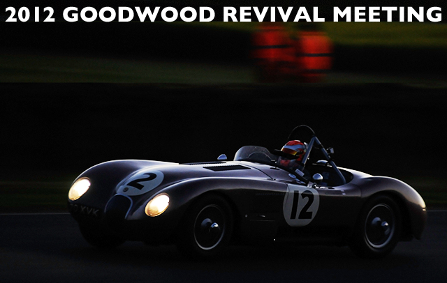 Early evening racing at Goodwood 2012